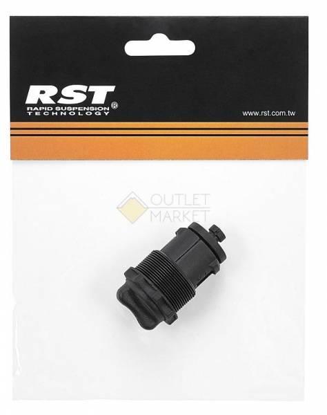 Запчасти для амортизационной вилки RST регул-р жесткости д/ноги 25,4мм для CAPA/NEON/SOFI/URBAN пластик черный RST 1-0904